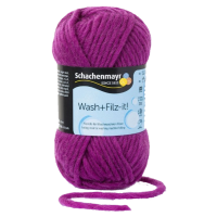 Schachenmayr, Wash + Filz it!, Purple (0026)