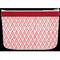 Zipper pouch, 16cm x 23cm, Knit Pro, red