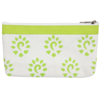 Zipper pouch, 18cm x 11cm, Knit Pro, green