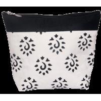 Zipper pouch, 18cm x 21cm, Knit Pro, black