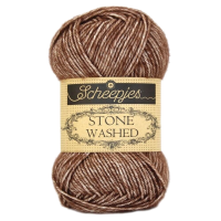 Scheepjes, Stone Washed, brown (822)