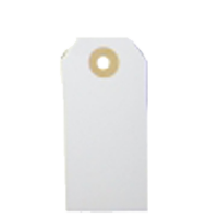 Cardboard tag, creme coloured, 160x80mm, per 5pcs