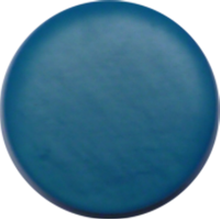 Button, 23mm, round, blue