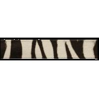 Band - dierenprint 25mm