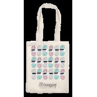 Canvas bag Scheepjes, 34x32cm, design 3