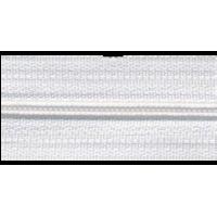 Rits per meter, nylon, wit (501) - per 10cm