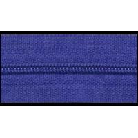 Zipper by the meter, nylon, blue (918) - per 10cm