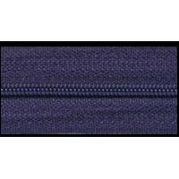 Zipper by the meter, nylon, dark blue (919) - per 10cm