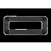 Passant, 38mm, plastic, black