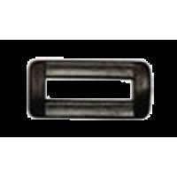Passant, 25mm, plastic, black