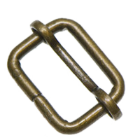 Adjusting buckle,  20mm, brass