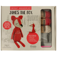 "Haakpakket ""James the fox"""