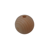 Houten bal, dia 40mm