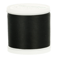 Embroidery thread Rayon no. 40 - black (1000) - 1000m