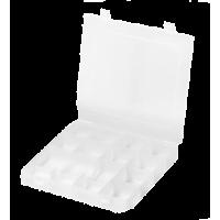Startersset, Sorteerbox met tang en 100 KAM Snaps T5 (glanzend)