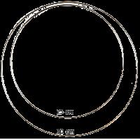 Dromenvanger ring, 30cm, wit