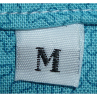Size labels white - M (per 10)