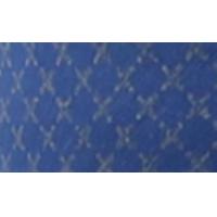 Biaisband, katoen, 20mm, reflecterend, blauw - per 1m