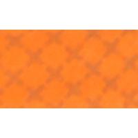 Bias binding, cotton, 20mm, reflective, orange - per1m