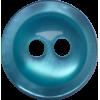 Knoop, 11mm, rond, groen/blauw