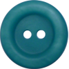 Bouton, 17mm, rond, vert/bleu