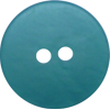 Button, 17mm, round, green/blue
