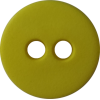 Knoop, 12mm, rond, geel