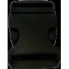 Klikgesp, 30mm, zwart