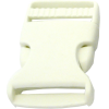 Clip buckles, 30mm, white (009)