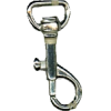 Carabiner, small, 4,3cmx1,3cm, silver-coloured, P-hook