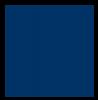 Flockfolie, 20x25cm, koningsblauw