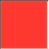 Flockfolie, 20x25cm, rood