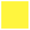 Flockfolie, 20x25cm, geel