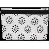 Zipper pouch, 16cm x 23cm, Knit Pro, black