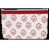 Zipper pouch, 18cm x 28cm, Knit Pro, red
