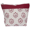 Zipper pouch, 18cm x 21cm, Knit Pro, bordeaux