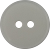 Bouton, 15mm, rond, blanc