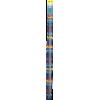 Single-pointed with knob, aluminium, 40cm, 2,00mm - per pair