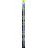 Single-pointed with knob, aluminium, 40cm, 4,50mm - per pair