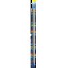 Single-pointed with knob, aluminium, 40cm, 5,50mm - per pair