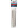 Double-pointed and glove knitting pins, plastic, 20cm, 9,00mm - per 5