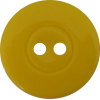 Knoop, 15mm, rond, geel