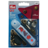 Press fasteners Anorak, 12mm, old brass