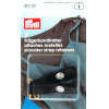 Shoulder straps retainers, black, 2pce