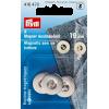 Magneetknopen, zilverkleurig, 19mm, 3st