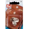 Magneetsluiting, zilverkleurig, 19mm