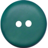 Button, 15mm, round, green