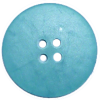 Button, 30mm, round, green/blue