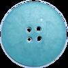 Knoop, 30mm, rond, groen/blauw