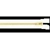 Broekrits, koper, 12cm, wit (501)